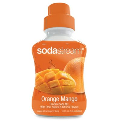 SodaStream Orange Mango Sodamix Flavor