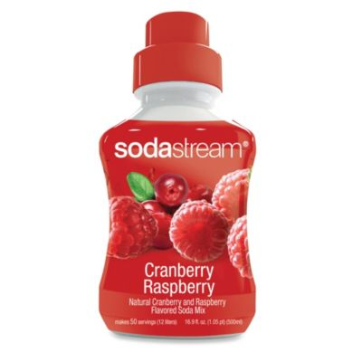 SodaStream Cranberry Raspberry Sparkling Drink Mix
