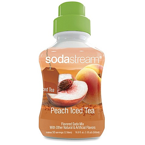 SodaStream Peach Iced Tea Sparkling Drink Mix