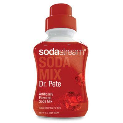 SodaStream Dr. Pete Sodamix Flavor