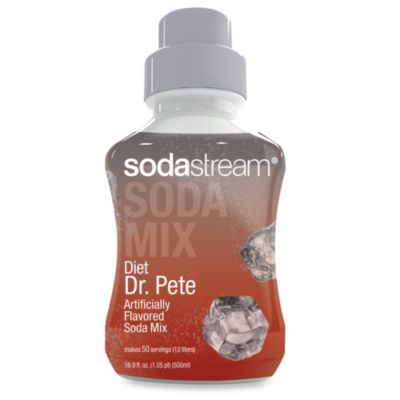 SodaStream Diet Dr. Pete Sparkling Drink Mix