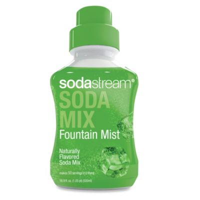 SodaStream Fountain Mist Sparkling Drink Mix