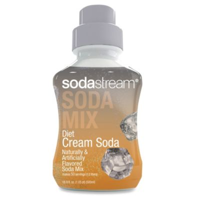 SodaStream Sodamix Flavor in Diet Cream Soda