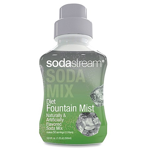 SodaStream Diet Fountain Mist Sparkling Drink Mix