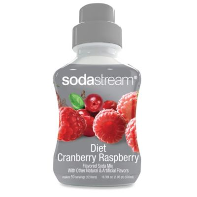 SodaStream Diet Cranberry Raspberry Sparkling Drink Mix