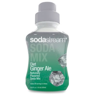 SodaStream Diet Ginger Ale Sparkling Drink Mix