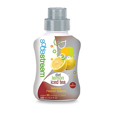 SodaStream Diet Lemon Iced Tea Sparkling Drink Mix