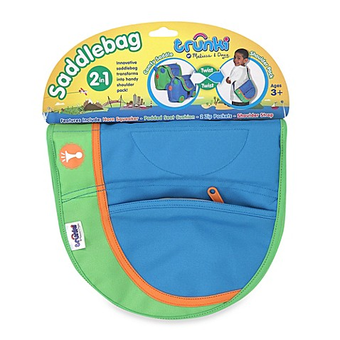 Melissa & Doug® Trunki Saddlebag in Blue