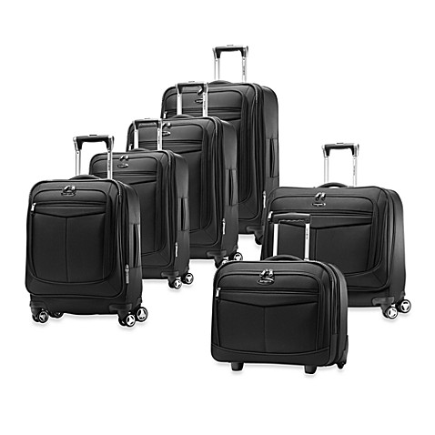 Samsonite® Silhouette 12 Spinner Upright Luggage - Black