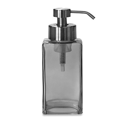 Foaming Soap Dispenser Smoke Glass Bed Bath Beyond