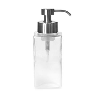 Foaming Soap Dispenser in Frost Glass