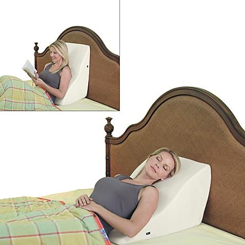 Contour 174 Back Wedge Lumbar Support Massage Pillow Www