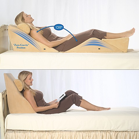 Contour® BackMax Body Wedge Cushion Set With Massage