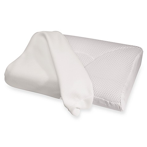 Contour Living® Cool Mesh Memory Foam Pillow