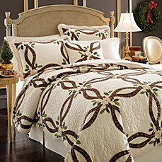 Lenox Holiday Quilt and Accessories