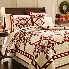 Lenox Holiday Gatherings Quilt and Accessories