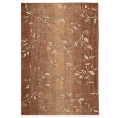 Nourison Contours 5-Foot x 7-Foot 6-Inch Room Size Rug in Cinnamon