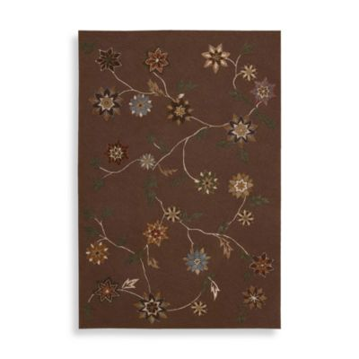 7 3 x 9 3 Nourison Brown Room Rug