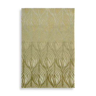 Nourison Contours 5-Foot x 7-Foot 6-Inch Room Size Rug in Green