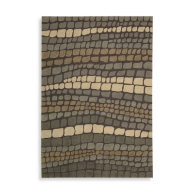 Nourison Fantasy 2-Foot 6-Inch x 4-Foot Area Rug in Green