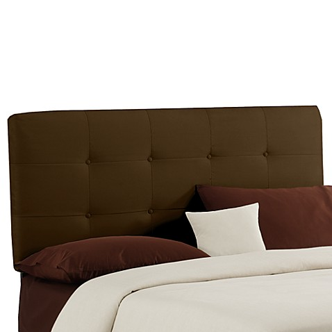Payton Tufted Headboard - Chocolate
