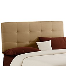 Payton Tufted Headboard - Saddle