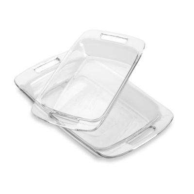 Pyrex® Advantage 2-Piece Oblong Baking Dish Set
