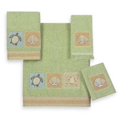 Avanti Sandpiper Washcloth in Sage