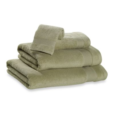 Microdry® Hand Towel in Green