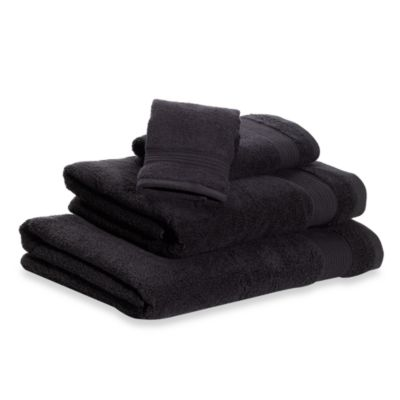 Microdry® Hand Towel in Black