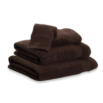 Microdry® Bath Towel in Chocolate