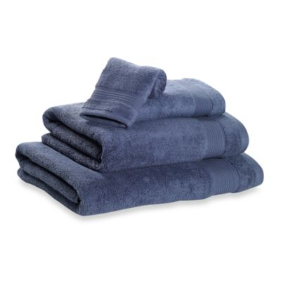 Microdry® Hand Towel in Dark Blue