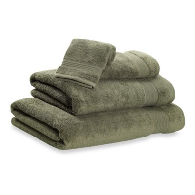 Microdry® Hand Towel in Dark Green