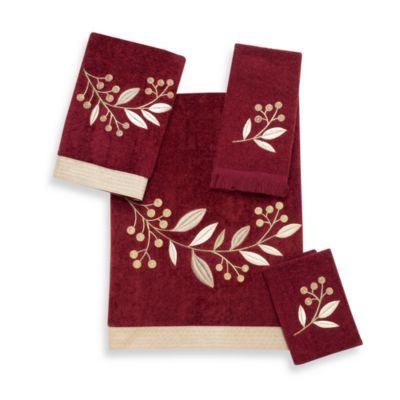 Avanti Madison Brick Fingertip Towel