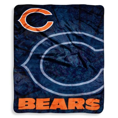 Chicago Bears Raschel Throw