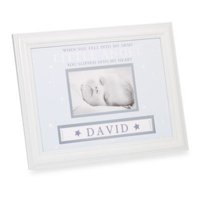 Baby Boy Personalized Frame