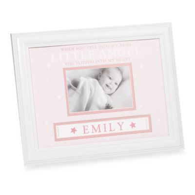 Baby Girl Personalized Frame