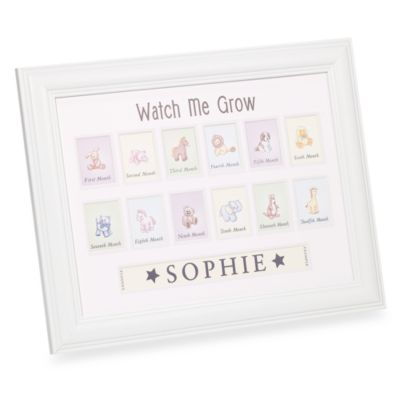 Watch Me Grow Personalized Frame
