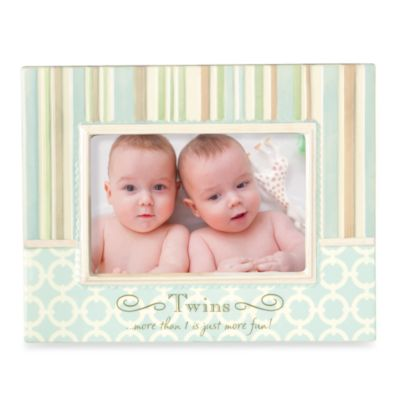 Grasslands Road™ Baby It's You Twins Photo Frame