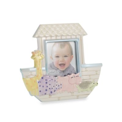 Grasslands Road™ Noah's Ark 4-Inch x 4-Inch Photo Frame