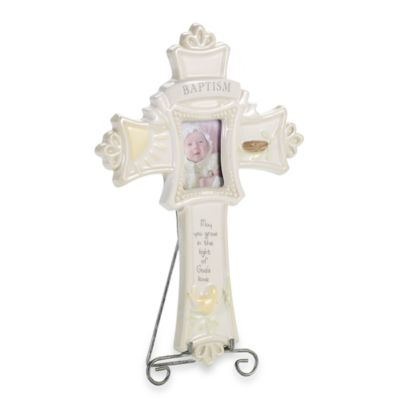 Grasslands Road™ Bundle of Blessings Baptism Cross Frame