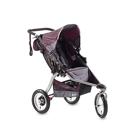 BOB® Revolution CE Single Stroller in Plum