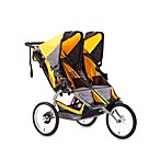 BOB® Ironman Duallie Stroller in Yellow