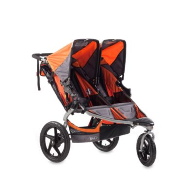 BOB® Revolution SE Duallie Stroller in Orange