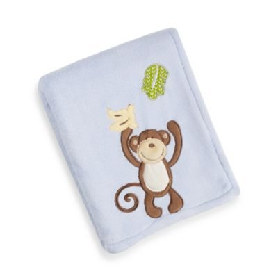 CoCaLo® Monkey Time Sherpa Blanket