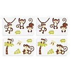 CoCalo™ Monkey Time Wall Appliqués