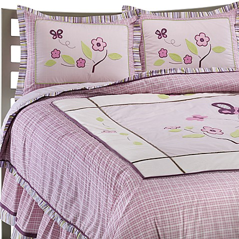 Cocalo Sugar Plum Twin Bed Skirt Bed Bath Amp Beyond