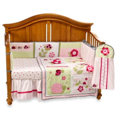 Kidsline™ Dotty 6-Piece Crib Bedding Set