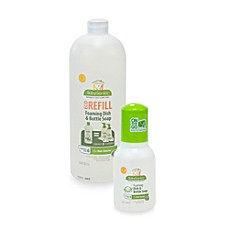 BabyGanics® Dish Dazzler™ Foaming Dish and Bottle Soap