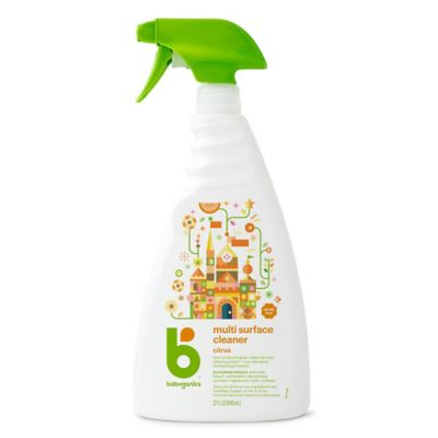 BabyGanics®The Grime Fighter™ 32-Counce Citrus All Purpose Cleaner